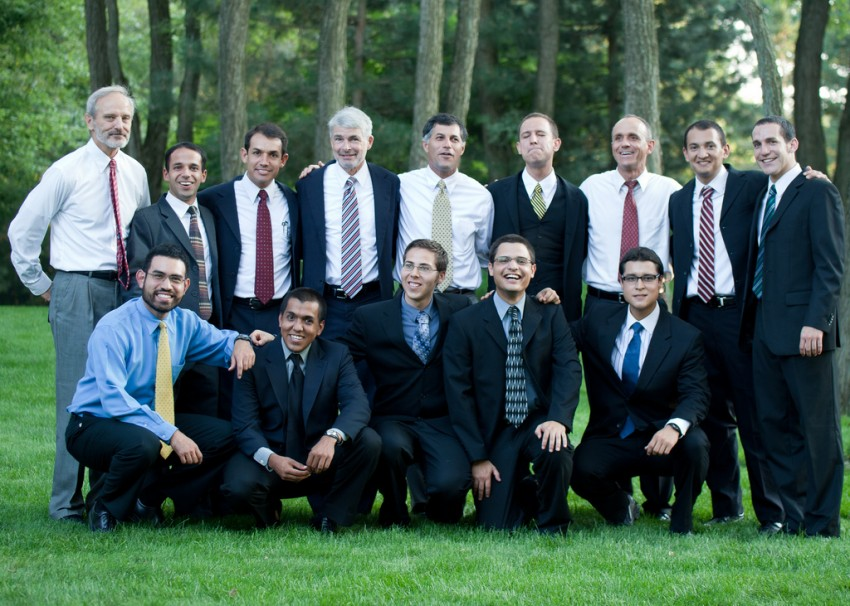 Group of brothers at the 2011 Commitments.
