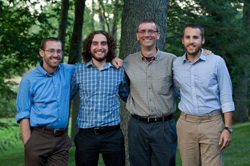 (left to right) Joseph Mathias, Miguel Delgadillo, Nico Angleys, and Will Cannon.